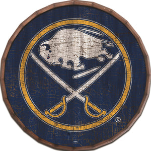 Buffalo Sabres Cracked Color Barrel Top