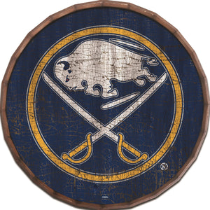 Buffalo Sabres Cracked Color Barrel Top -24""