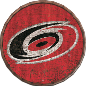 Carolina Hurricanes Cracked Color Barrel Top -24""