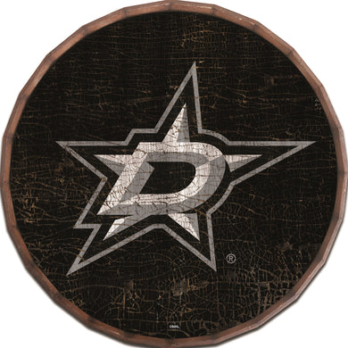 Dallas Stars Cracked Color Barrel Top