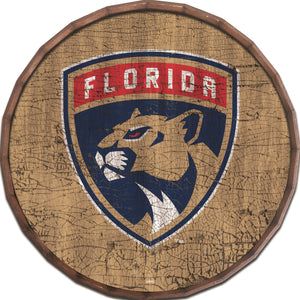 Florida Panthers Cracked Color Barrel Top -24""
