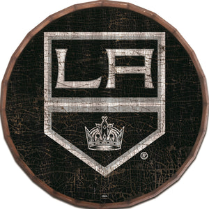 Los Angeles Kings Cracked Color Barrel Top -24""