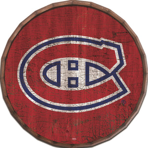 Montreal Canadiens Cracked Color Barrel Top -24""