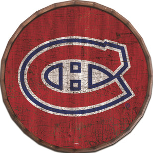 Montreal Canadiens Cracked Color Barrel Top
