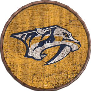 Nashville Predators Cracked Color Barrel Top -24""
