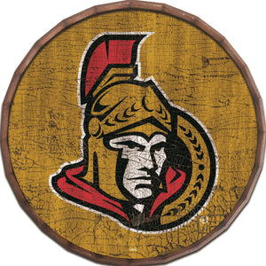 Ottawa Senators Cracked Color Barrel Top -24""