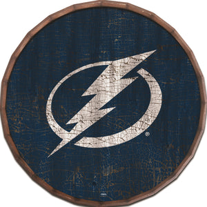 Tampa Bay Lightning Cracked Color Barrel Top