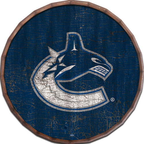Vancouver Canucks Cracked Color Barrel Top