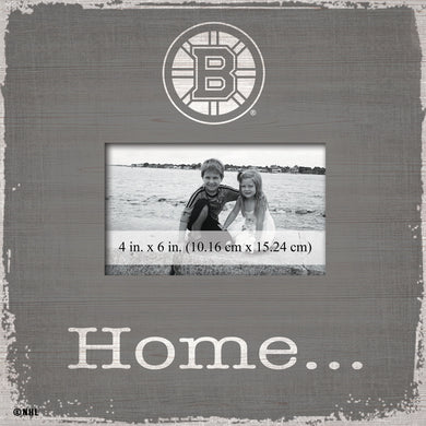 Boston Bruins Home Picture Frame