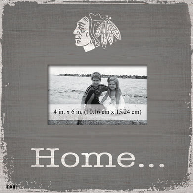 Chicago Blackhawks Home Picture Frame