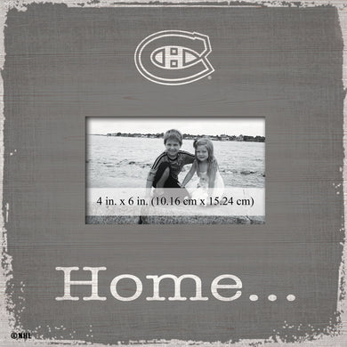 Montreal Canadiens Home Picture Frame