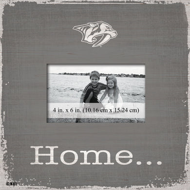 Nashville Predators Home Picture Frame