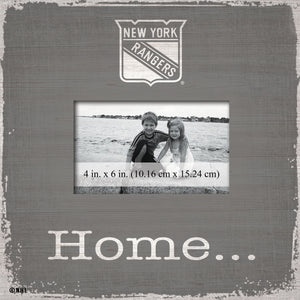 New York Rangers Home Picture Frame