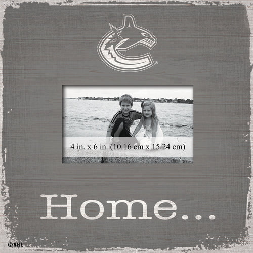 Vancouver Canucks Home Picture Frame