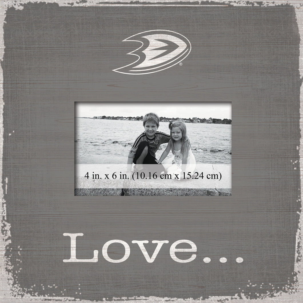 Anaheim Ducks Love Picture Frame