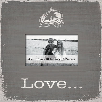 Colorado Avalanche Love Picture Frame