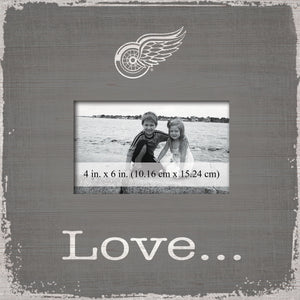 Detroit Red Wings Love Picture Frame
