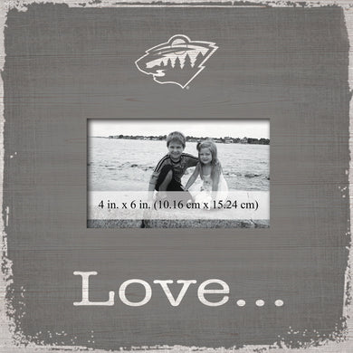 Minnesota Wild Love Picture Frame