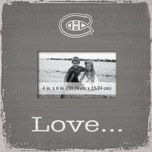 Montreal Canadiens Love Picture Frame