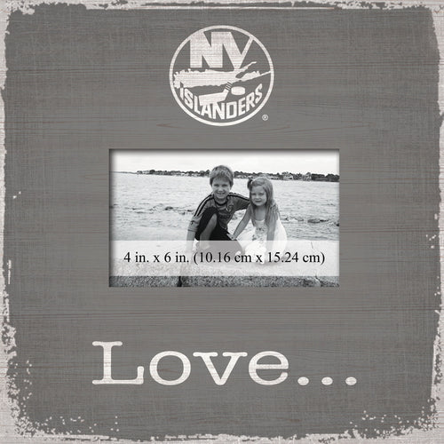 New York Islanders Love Picture Frame