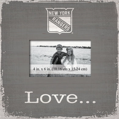 New York Rangers Love Picture Frame