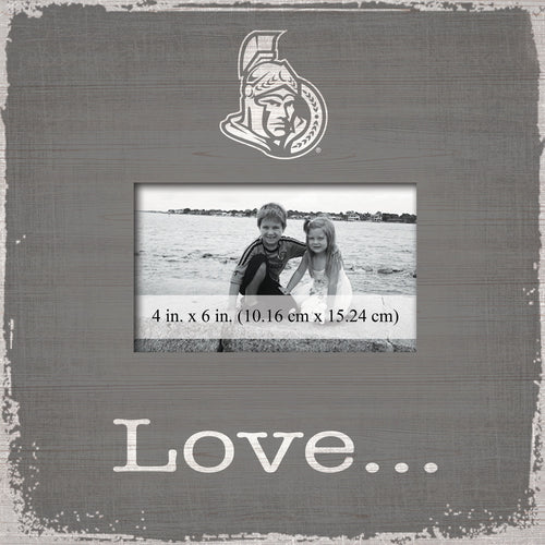 Ottawa Senators Love Picture Frame