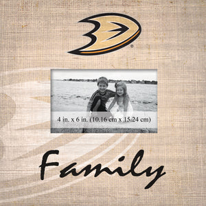 Anaheim Ducks Family Picture Frame