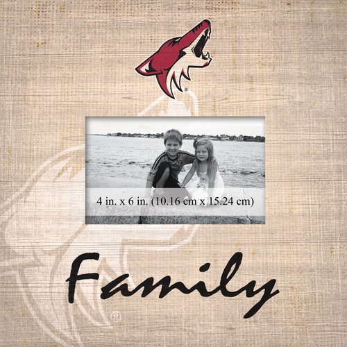 Arizona Coyotes Family Picture Frame