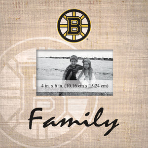 Boston Bruins Family Picture Frame