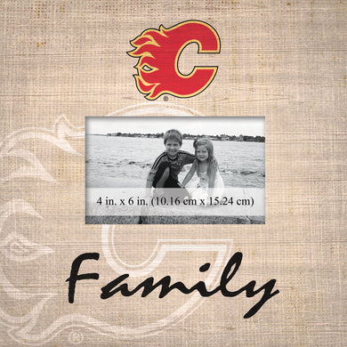 Calgary Flames Family Picture Frame