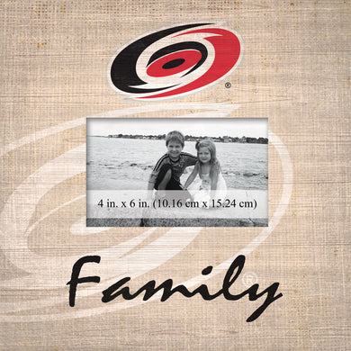 Carolina Hurricanes Family Picture Frame