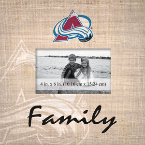 Colorado Avalanche Family Picture Frame