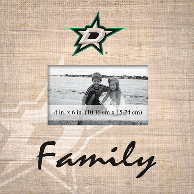 Dallas Stars Family Picture Frame