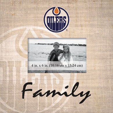 Edmonton Oilers Family Picture Frame