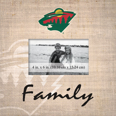 Minnesota Wild Family Picture Frame