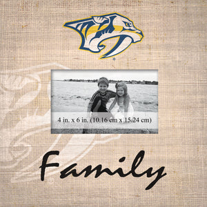 Nashville Predators Family Picture Frame