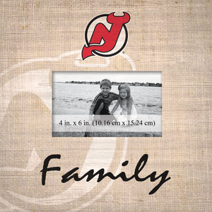 New Jersey Devils Family Picture Frame