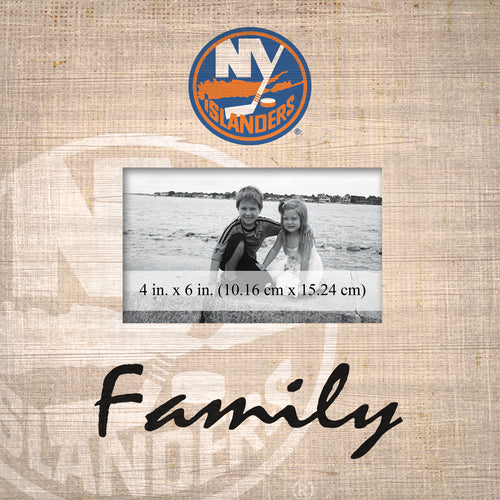 New York Islanders Family Picture Frame