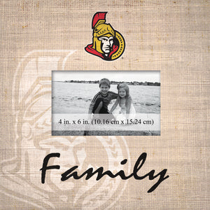 Ottawa Senators Family Picture Frame