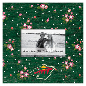 Los Angels Kings Floral Picture Frame