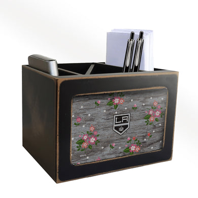 Los Angeles Kings Floral Desktop Organizer