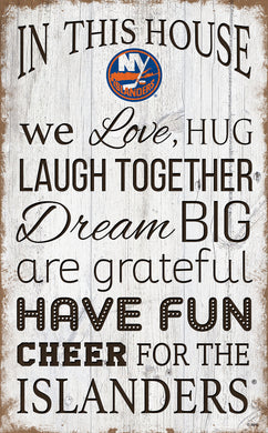 New York Islanders House Rules Sign - 11