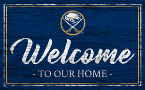 Buffalo Sabres Welcome Sign