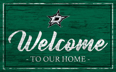 Dallas Stars Welcome Sign