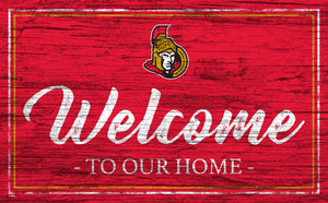 Ottawa Senators Welcome Sign