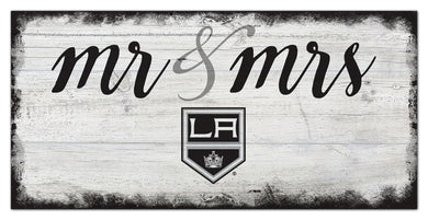 Los Angeles Kings Mr. & Mrs. Script Wood Sign - 6