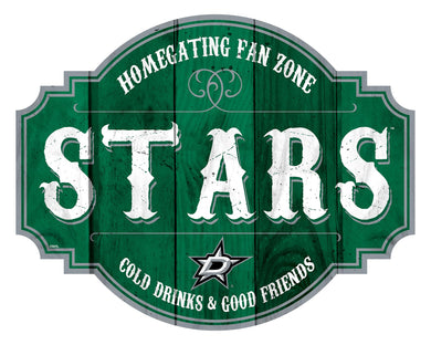 Dallas Stars Homegating Wood Tavern Sign