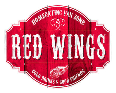 Detroit Red Wings Homegating Wood Tavern Sign