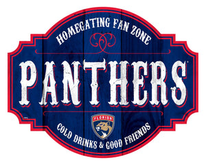 Florida Panthers Homegating Wood Tavern Sign