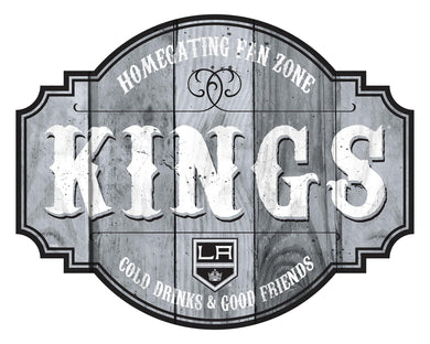Los Angeles Kings Homegating Wood Tavern Sign